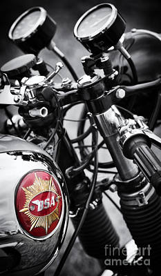 Photograph - 1963 Bsa Rocket Goldstar by Tim Gainey