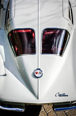 Photograph - 1963 Chevrolet Corvette Split Window -386c by Jill Reger