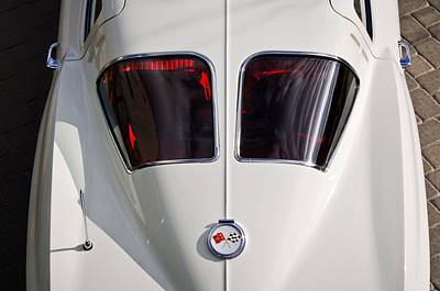 Spit Photograph - 1963 Chevrolet Corvette Split Window -399c by Jill Reger