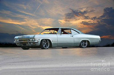 Sean Rights Managed Images - 1963 Chevrolet Impala Custom Royalty-Free Image by Dave Koontz