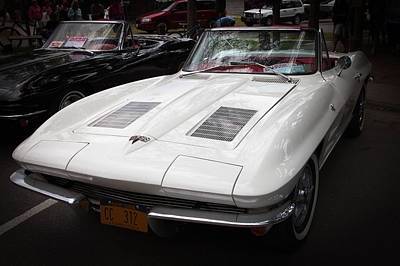 Photograph - 1963 Chevy Corvette Stingray Convertible by David Patterson