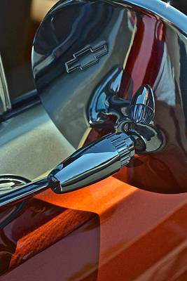 Photograph - 1963 Chevy Impala Side Mirror by Bill Owen