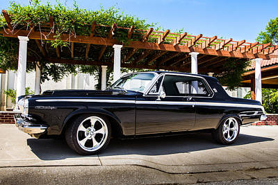 Photograph - 1963 Dodge Polara by Ron Pate