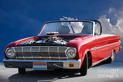 Ford Falcon Coupe Photograph - 1963 Ford Falcon Futura Convertible by Dave Koontz