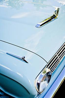1963 Ford Photograph - 1963 Ford Falcon Futura Convertible Hood by Jill Reger