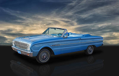 Photograph - 1963 Ford Falcon Futura by Frank J Benz
