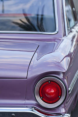 1963 Ford Photograph - 1963 Ford Falcon Tail Light by Jill Reger