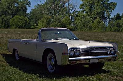 Photograph - 1963 Lincoln Continental 4 Door Convertible by Tim McCullough