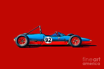 Photograph - 1963 Mrc 22 Ford Fj by Stuart Row
