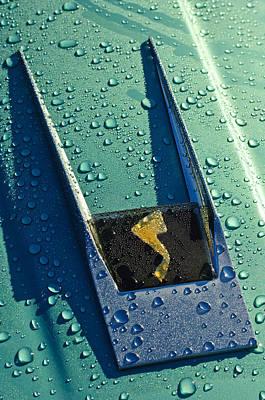 Car Photograph - 1963 Studebaker Avanti Hood Ornament by Jill Reger