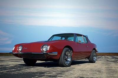 Photograph - 1963 Studebaker Avanti by Tim McCullough