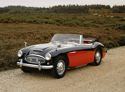1964 Austin Healey 3000 Mkiii, 2 Litre Art Print by Panoramic Images