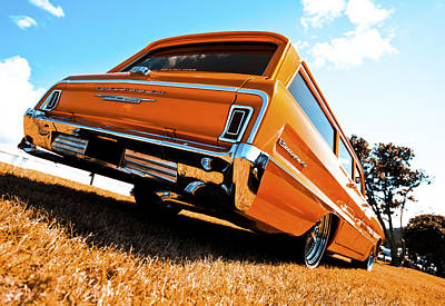 1964 Chevrolet Biscayne Art Print by motography aka Phil Clark