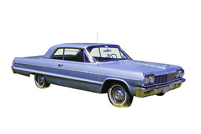 Photograph - 1964 Chevrolet Impala Muscle Car by Keith Webber Jr