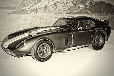 1964 Cobra Daytona Coupe Art Print