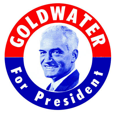 Tea Party Painting - 1964 Goldwater For President by Historic Image