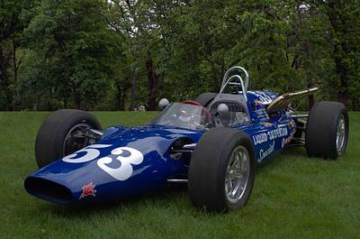 Photograph - 1964 Huffaker Mg Liquid Suspension Special Indy Race Car by Tim McCullough