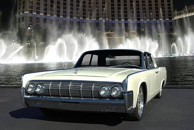 Photograph - 1964 Lincoln Continental by Tim McCullough