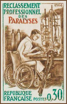 1964 Reclassification Professional Paralyzed Art Print