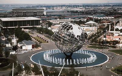 1964 Worlds Fair New York City Art Print by Kevin Snider