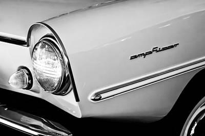 1965 Amphicar 770 Convertible Headlight Emblem Print by Jill Reger