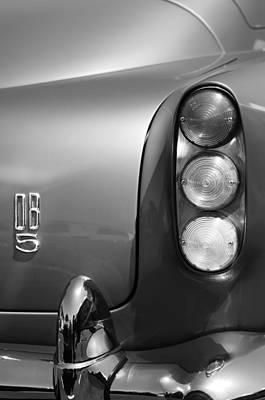 Aston Martin Db5 Photograph - 1965 Aston Martin Db5 Coupe Rhd Taillight by Jill Reger