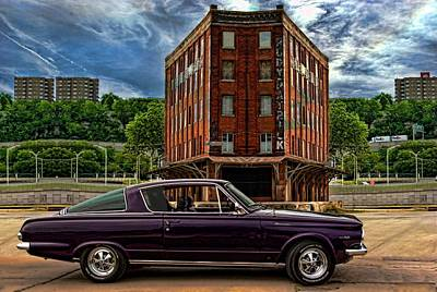 Photograph - 1965 Barracuda by Tim McCullough