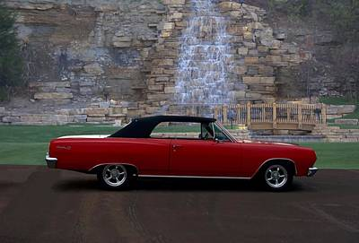 Photograph - 1965 Chevrolet Chevelle Malibu Convertible by Tim McCullough