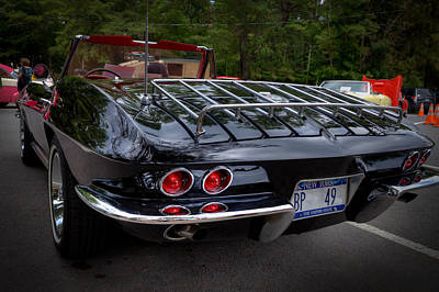 Photograph - 1965 Chevrolet Corvette by David Patterson