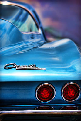 Photograph - 1965 Chevrolet Corvette Stingray by Gordon Dean II