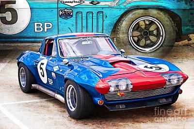Photograph - 1965 Corvette Front View by Stuart Row
