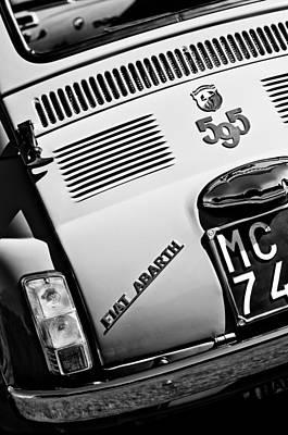 Photograph - 1965 Fiat Taillight Emblem by Jill Reger