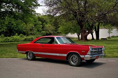 Photograph - 1965 Ford Fairlane Xl by Tim McCullough