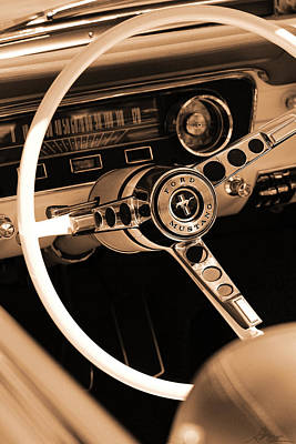 Photograph - 1965 Ford Mustang  by Gordon Dean II