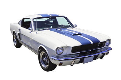 1965 Gt350 Mustang Muscle Car Art Print