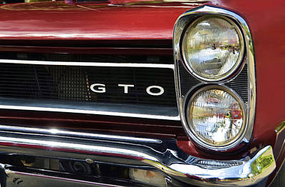 Photograph - 1965 Gto by Ken Smith
