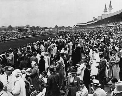 1965 Kentucky Derby Horse Racing Vintage Art Print by Retro Images Archive