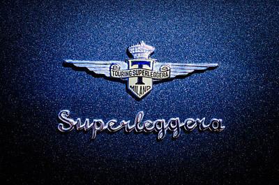 Photograph - 1965 Lamborghini 350 Gt Emblem -0722c by Jill Reger