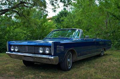 Photograph - 1965 Mercury Monterey Convertible by Tim McCullough