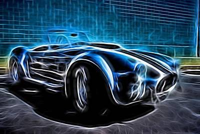1965 Shelby Cobra - 4 Art Print
