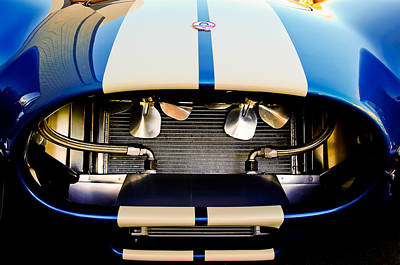 Photograph - 1965 Shelby Cobra Grille-new Version by Jill Reger