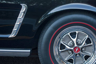 Photograph - 1965 Shelby Prototype Ford Mustang Wheel 3 by Jill Reger