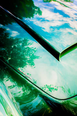 Photograph - 1966 Aston Martin Db6 Hood -0434c by Jill Reger