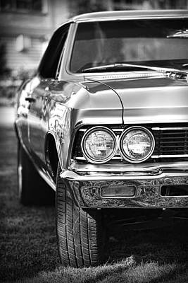 Photograph - 1966 Chevrolet Chevelle Ss 427 by Gordon Dean II