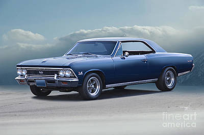 Aloha For Days - 1966 Chevrolet Chevelle SS396 by Dave Koontz