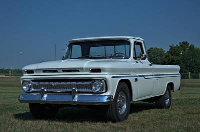 Photograph - 1966 Chevrolet Pickup Truck by Tim McCullough
