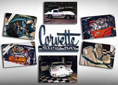Photograph - 1966 Chevy Corvette 427 Sting Ray by Gordon Dean II