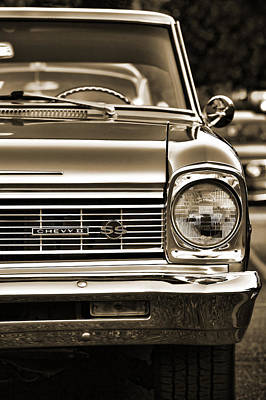Photograph - 1966 Chevy II Ss by Gordon Dean II