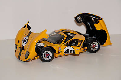 Photograph - 1966 Ford Gt40 - Diecast by John Black