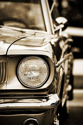 Photograph - 1966 Ford Mustang by Gordon Dean II